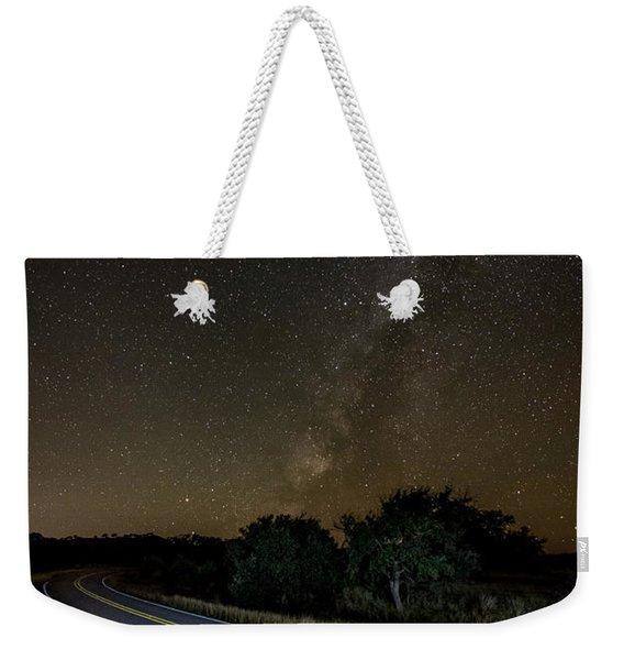 Road To The Milky Way Weekender Tote Bag