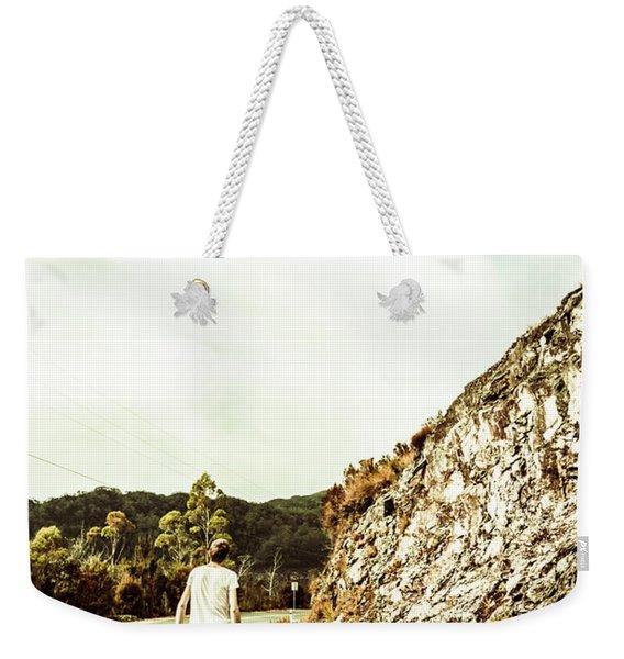 Road Tripping Tasmania Weekender Tote Bag