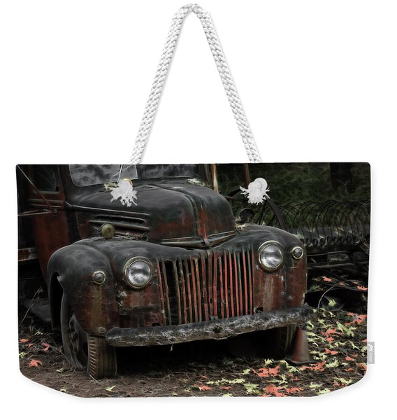 Roadside Jewel Weekender Tote Bag