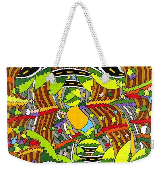 Roaming Weekender Tote Bag