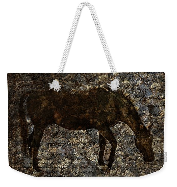 Roan Stallion Weekender Tote Bag