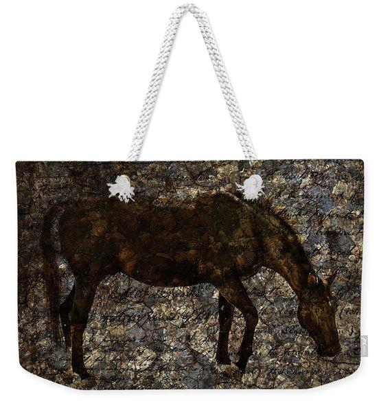 Roan Stallion Weekender Tote Bag