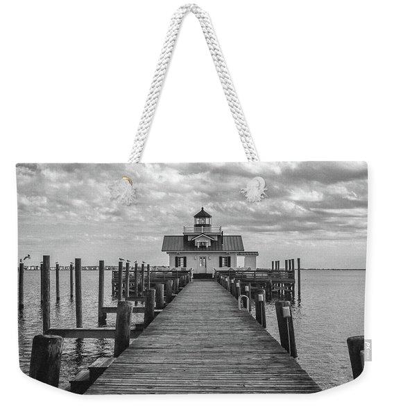 Roanoke Marshes Light Weekender Tote Bag