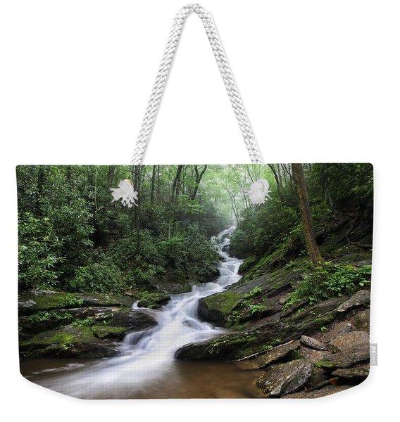 Roaring Fork Falls Weekender Tote Bag