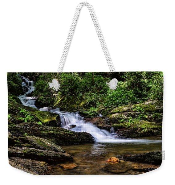 Roaring Fork Waterfall Weekender Tote Bag