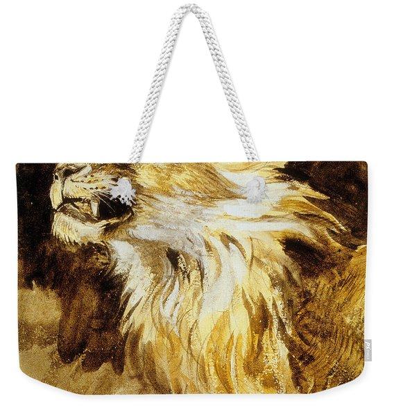 Roaring Lion Weekender Tote Bag