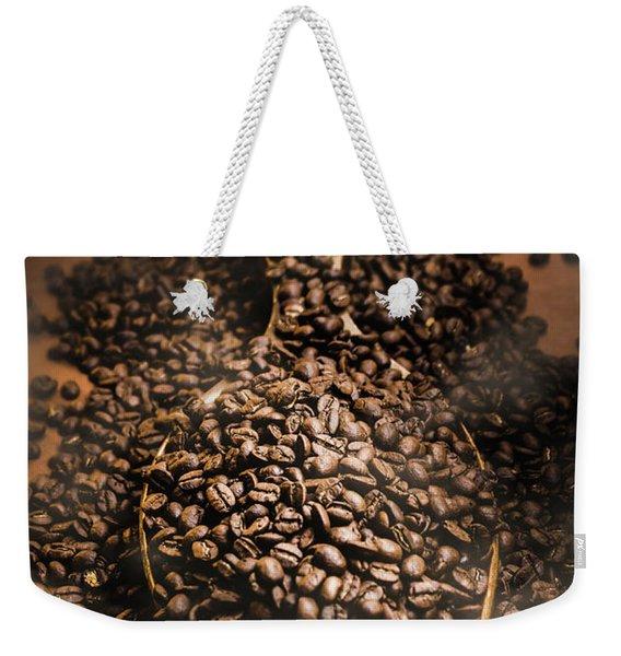 Roasting Coffee Bean Brew Weekender Tote Bag