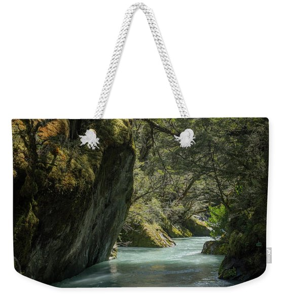 Rob Roy Stream New Zealand Weekender Tote Bag