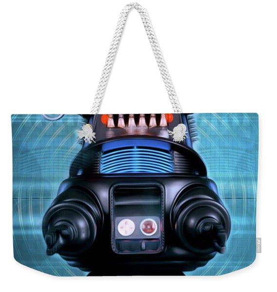 Robbie The Robot, Forbidden Planet Weekender Tote Bag