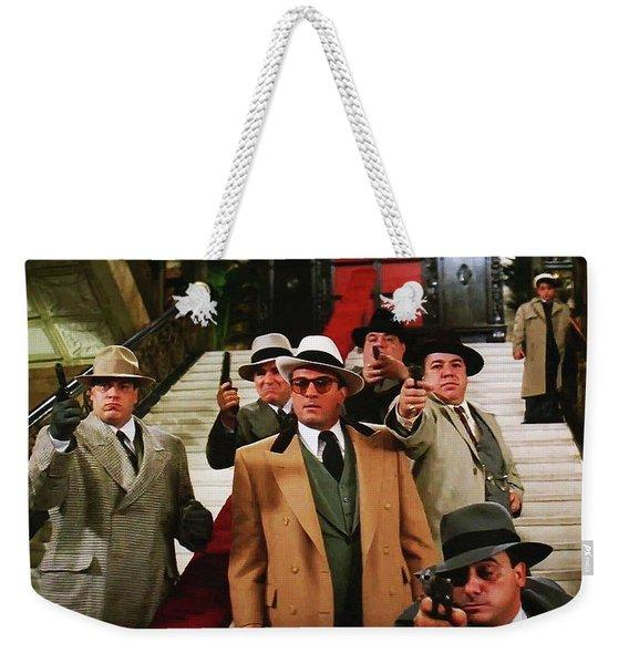 Robert De Niro As Al Capone The Untouchables Publicity Photo 1987 Weekender Tote Bag
