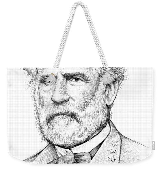 Robert E. Lee Weekender Tote Bag