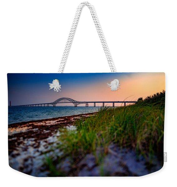 Robert Moses Causeway Weekender Tote Bag