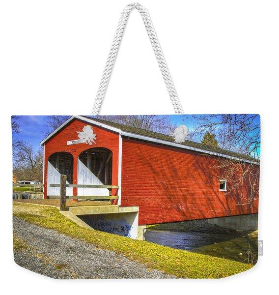 Roberts Covered Bridge Weekender Tote Bag
