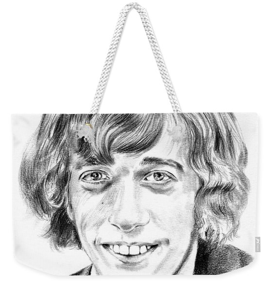 Robin Gibb Drawing Weekender Tote Bag