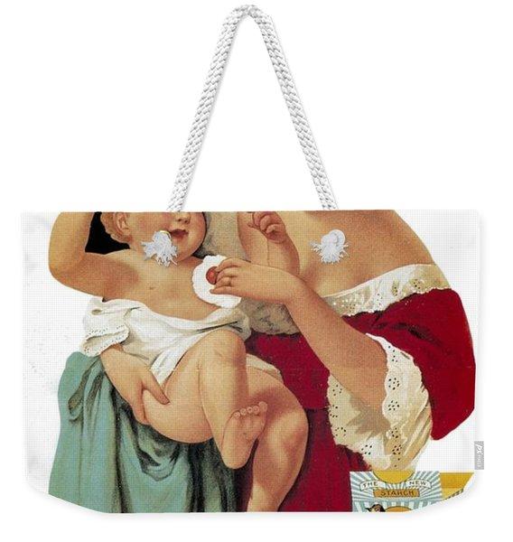 Robin Starch - Toilet Powder - Vintage Advertising Poster Weekender Tote Bag