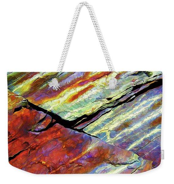 Rock Art 16 Weekender Tote Bag