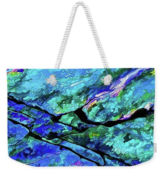 Rock Art 18 Weekender Tote Bag
