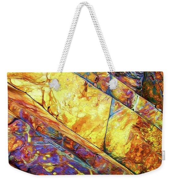 Rock Art 23 Weekender Tote Bag