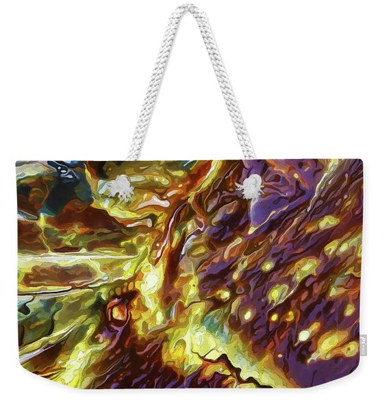 Rock Art 28 Weekender Tote Bag