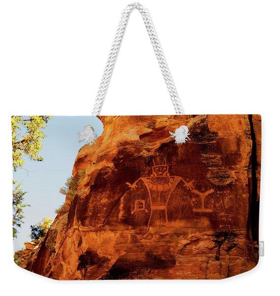 Rock Art From Utah Weekender Tote Bag