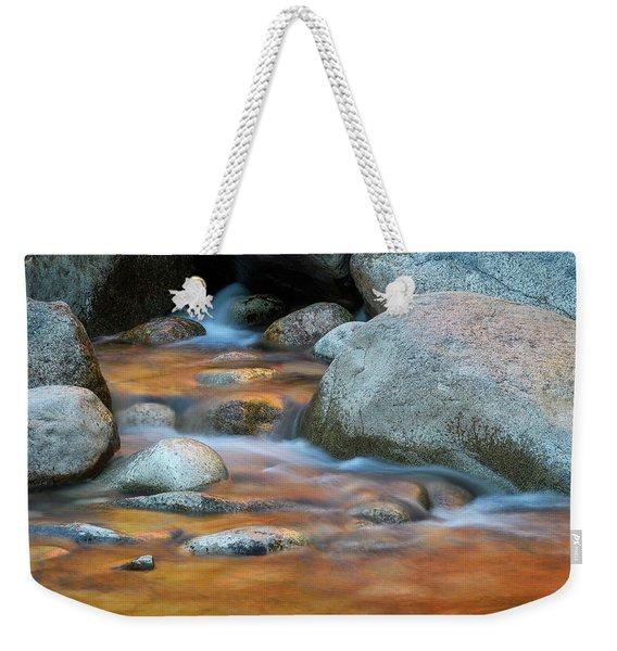 Rock Cave Reflection Nh Weekender Tote Bag