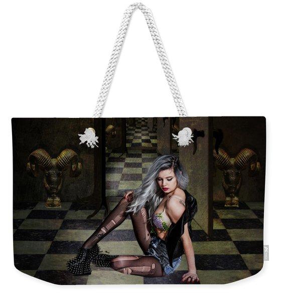 Rock Chick Weekender Tote Bag