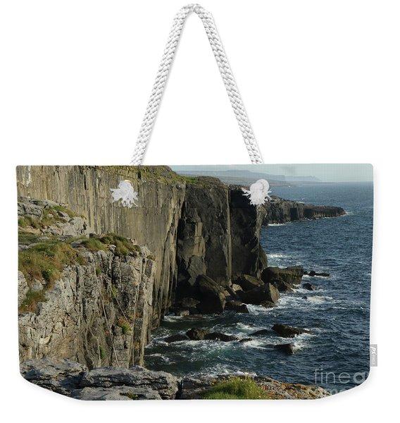Rock Climbing Burren Weekender Tote Bag