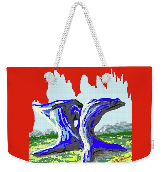 Rock Formations Weekender Tote Bag