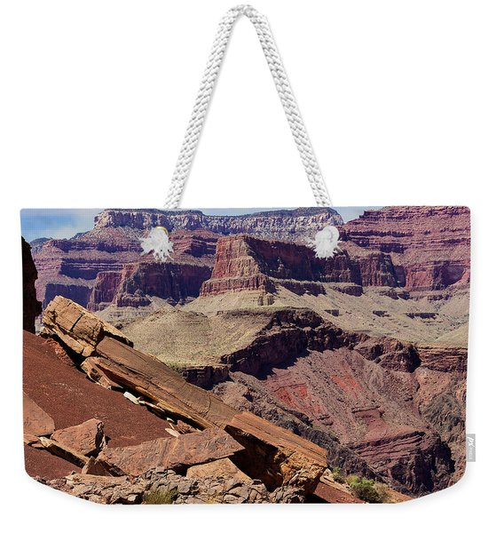 Rock Formations In The Grand Canyon Weekender Tote Bag
