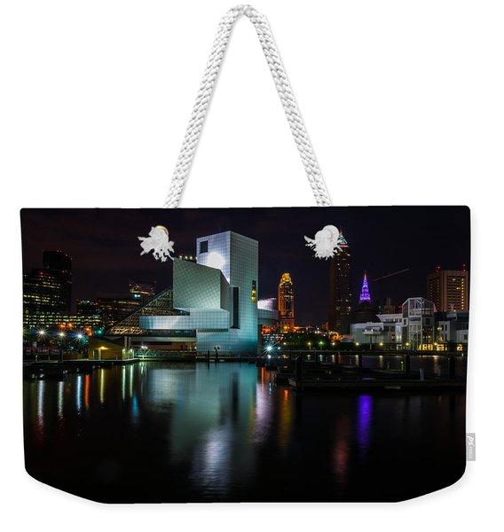 Rock Hall Reflections Weekender Tote Bag
