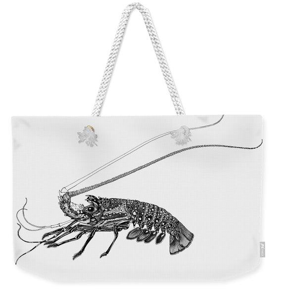 Rock Lobster Weekender Tote Bag