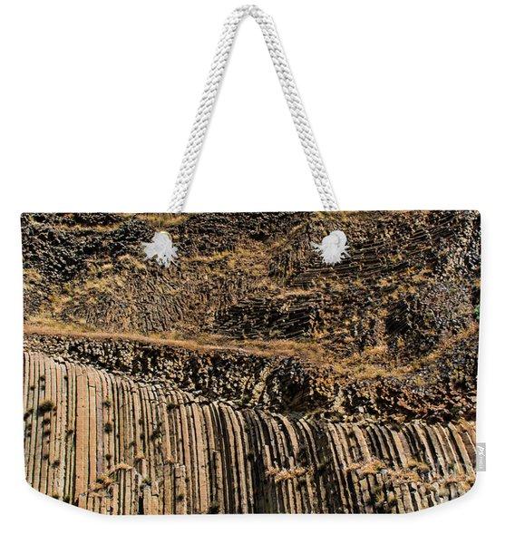 Rock Mountain Rock Art By Kaylyn Franks Weekender Tote Bag