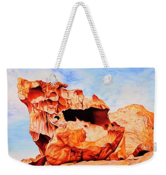 Rock Of Ages Weekender Tote Bag
