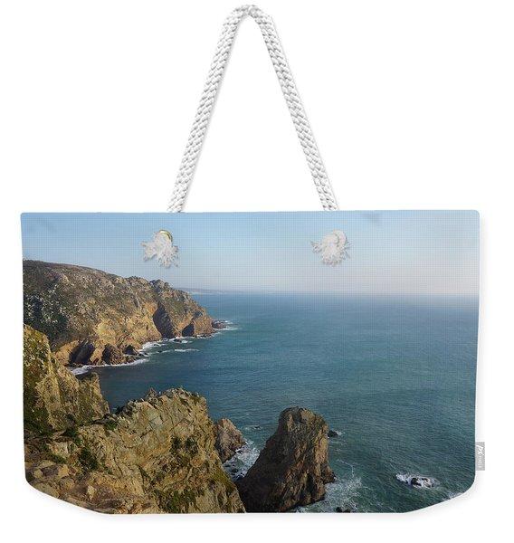Rocks Near To Cabo Da Roca Weekender Tote Bag
