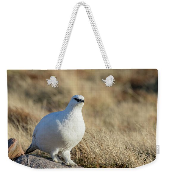 Rock Ptarmigan Weekender Tote Bag