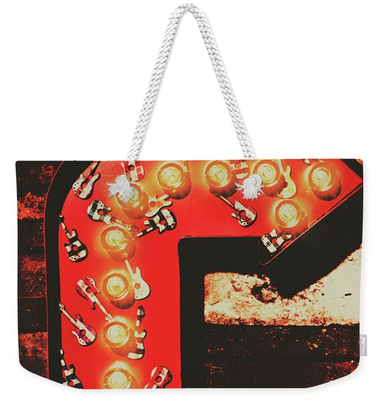 Rock Through This Way Weekender Tote Bag