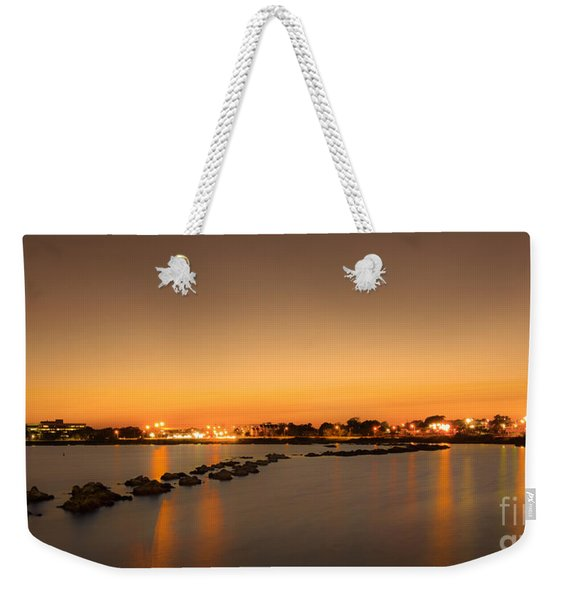 Rock Walk Weekender Tote Bag