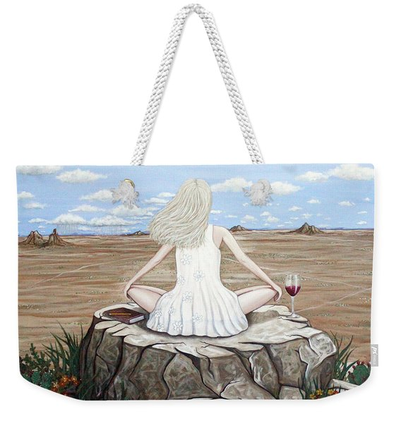 Rock With A View Weekender Tote Bag