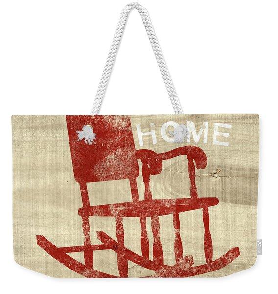 Rocking Chair Home- Art By Linda Woods Weekender Tote Bag