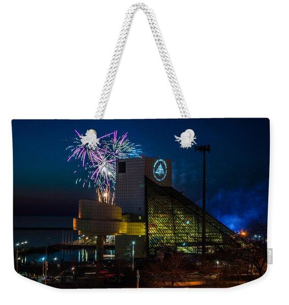 Rocking Fireworks Weekender Tote Bag