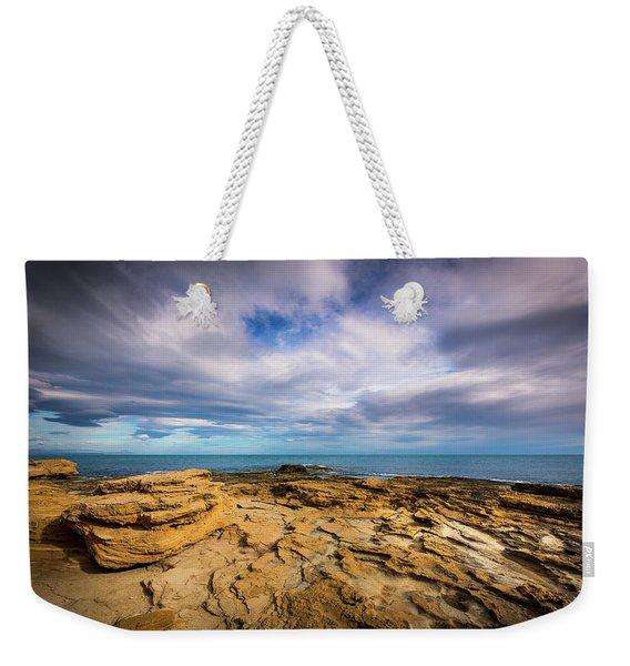 Rocks And Clouds. Weekender Tote Bag