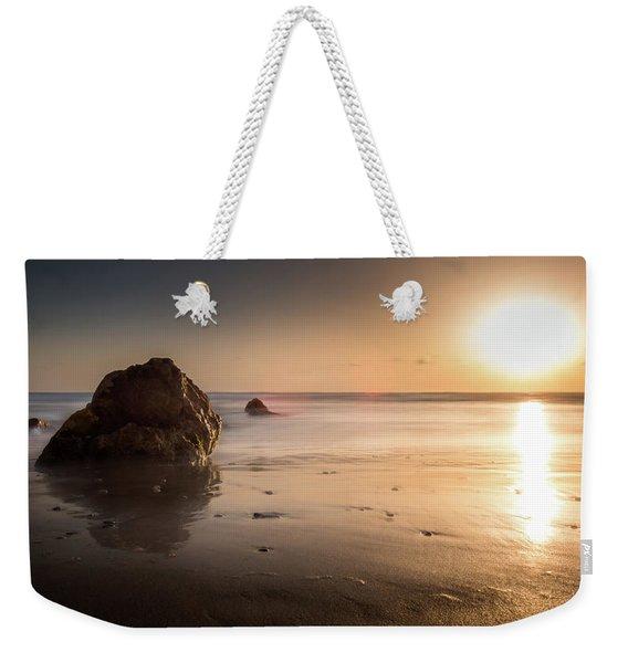 Rocks At Sunset 3 Weekender Tote Bag