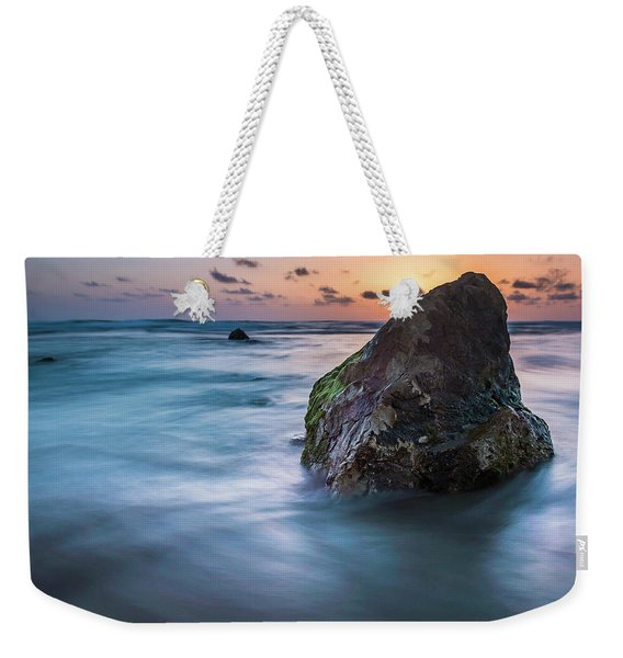 Rocks At Sunset 4 Weekender Tote Bag