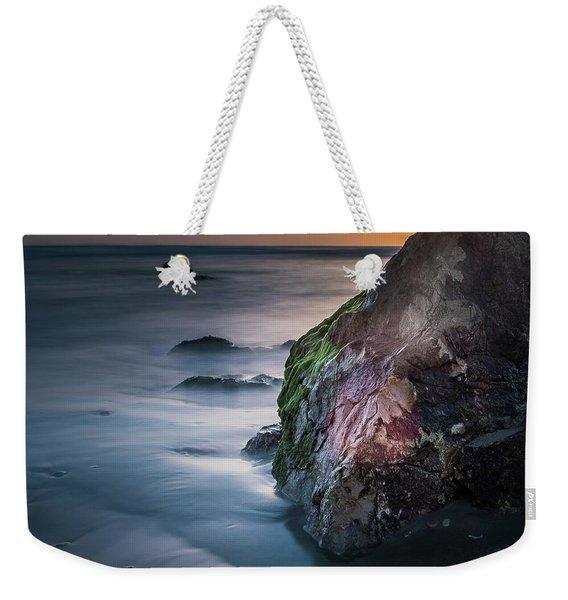Rocks At Sunset Weekender Tote Bag