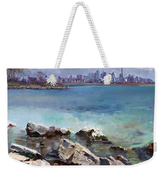 Rocks N' The City Weekender Tote Bag
