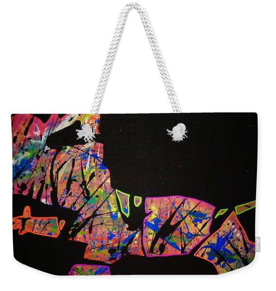 Rockstar Weekender Tote Bag