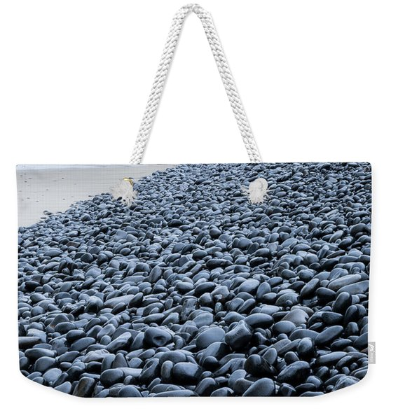 Weekender Tote Bag featuring the photograph Rocky Falcon Cove by Tim Newton