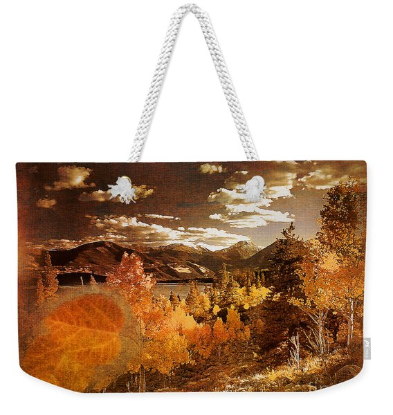 Rocky Mountain Gold 2015 Weekender Tote Bag