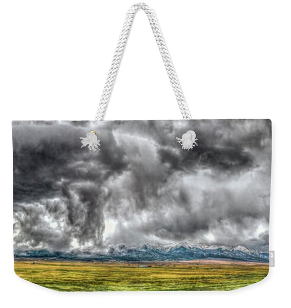 Rocky Mountain Panorama Hdr Weekender Tote Bag