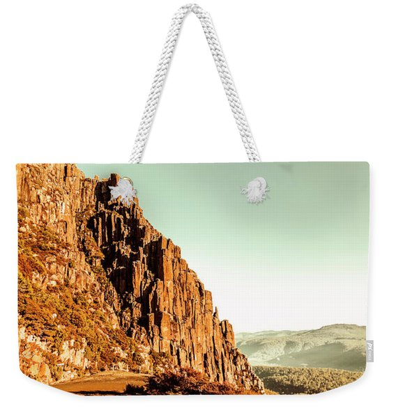 Rocky Mountain Route Weekender Tote Bag